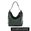 RABEANCO 時尚粉領系列垂墜肩背包 暗雲杉綠