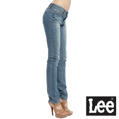 Lee-Diamond-Cut-Ana-488-緊身直筒牛仔褲-女款-中淺藍