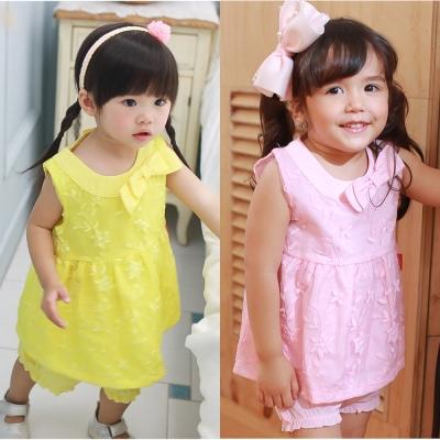 baby童衣 甜美歐風蕾絲套裝 61155