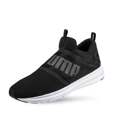 PUMA-Enzo Strap 男性慢跑運動鞋-黑色