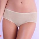 黛安芬-身體底妝零壓花漾平口內褲 M-EL(太空銀)