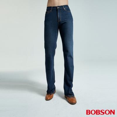 BOBSON 男款雙向伸縮喇叭褲