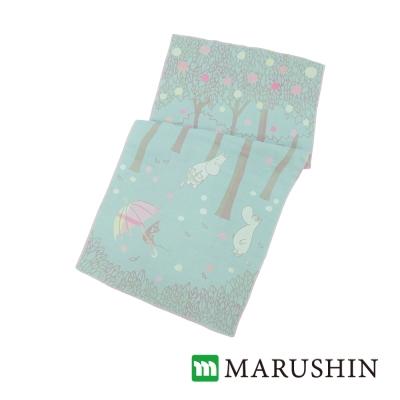 日本丸真Moomin今治三層紗臉巾/毛巾-蘋果森林