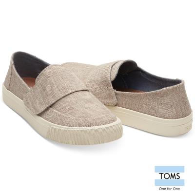 TOMS-亞麻細線織紋休閒鞋-女款