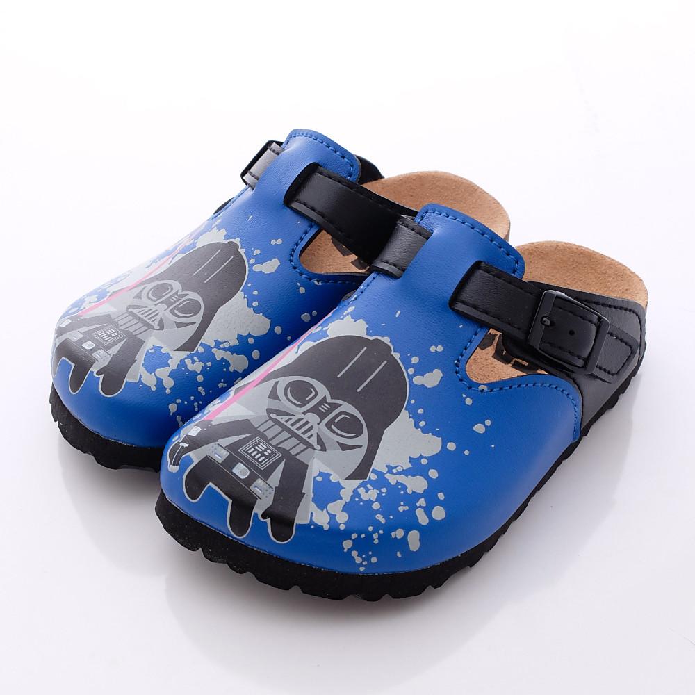 星際大戰-新創軟木涼鞋款-FI16506藍(中小童段)HN