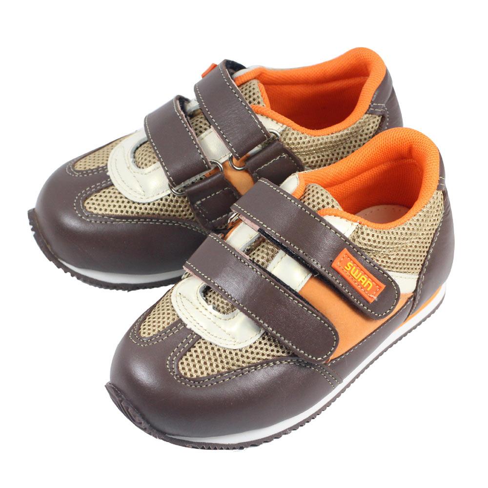 Swan天鵝童鞋-運動型矯正鞋 9316-咖