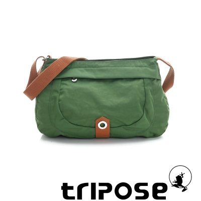 tripose 微旅系列淑女側肩包 草地綠