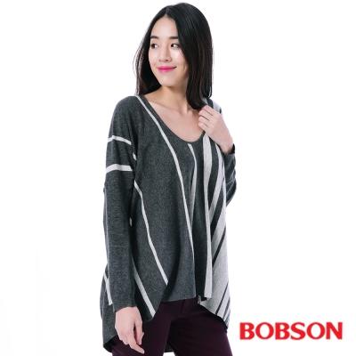 BOBSON  女款寬版毛線上衣