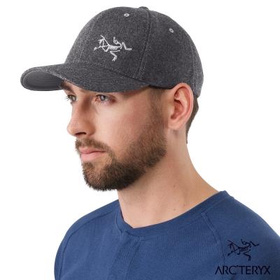 Arcteryx 羊毛棒球帽 木炭灰