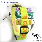 CAN COOL敢酷 3.3cm寬C160328007運動號碼帶(3補給環)(黃橘)