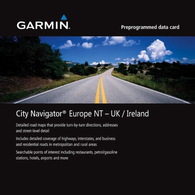 GARMIN 英國/愛爾蘭 地圖卡