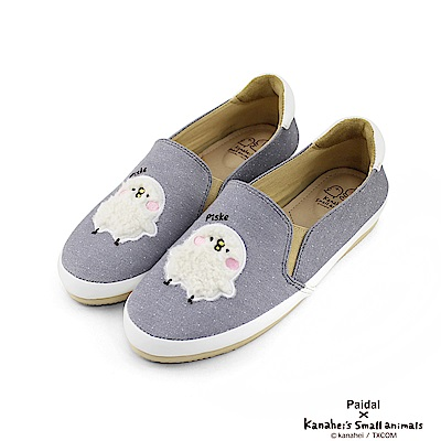 Paidal x 卡娜赫拉的小動物 - 毛絨P助休閒鞋樂福鞋