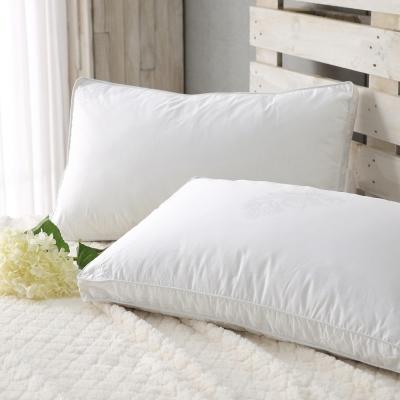 HOYACASA羽織柔眠 100%水鳥羽絲絨枕(高支撐型)-二入
