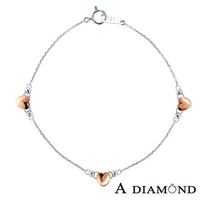 A Diamond 亞立詩鑽石 Shine 經典百搭 18K金手鍊