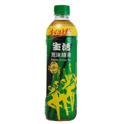 生活 泡沫綠茶(590mlx24入)