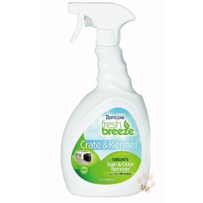 美國Fresh breeze《鮮綠茲.狗屋運輸籠專用》天然除臭去汙劑32oz <b>1</b>入