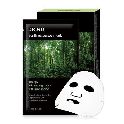 DR.WU 雨林瑪卡活力面膜3片入