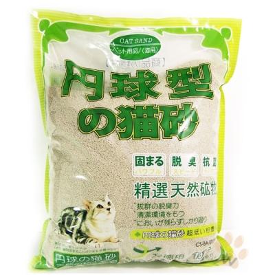 日本丹球型貓砂(細)10L 3入