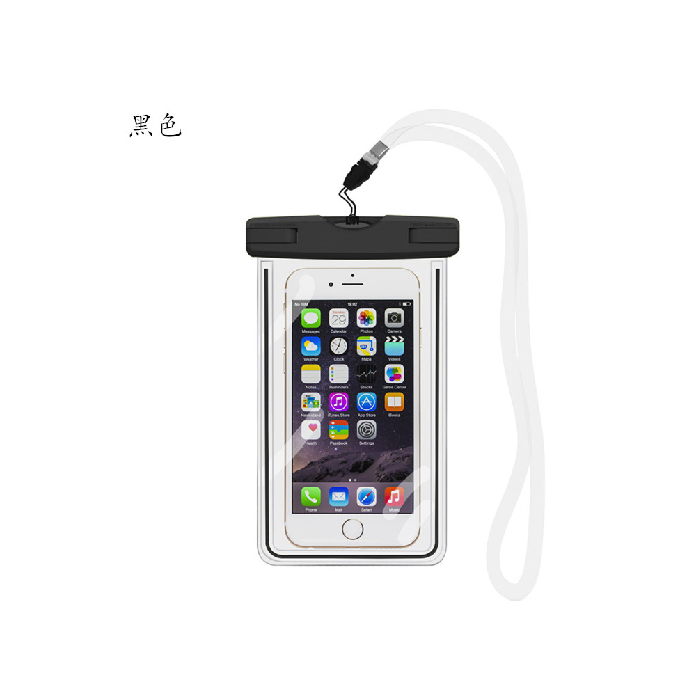 ROMIX手機防水袋保護套可觸控夜螢光型通用5.5吋以下手機