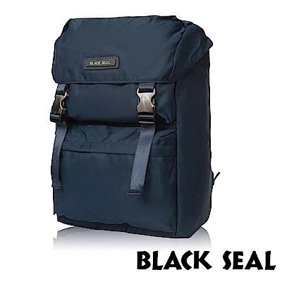 BLACK SEAL 經典休旅系列 多置物層13吋電腦機能後背包-午夜藍 BS83911