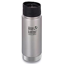 美國Klean Kanteen寬口保溫鋼瓶473ml-原鋼色