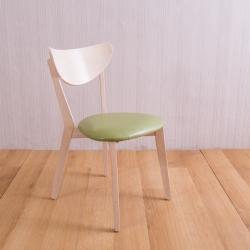 AS 全實木餐桌椅4入組