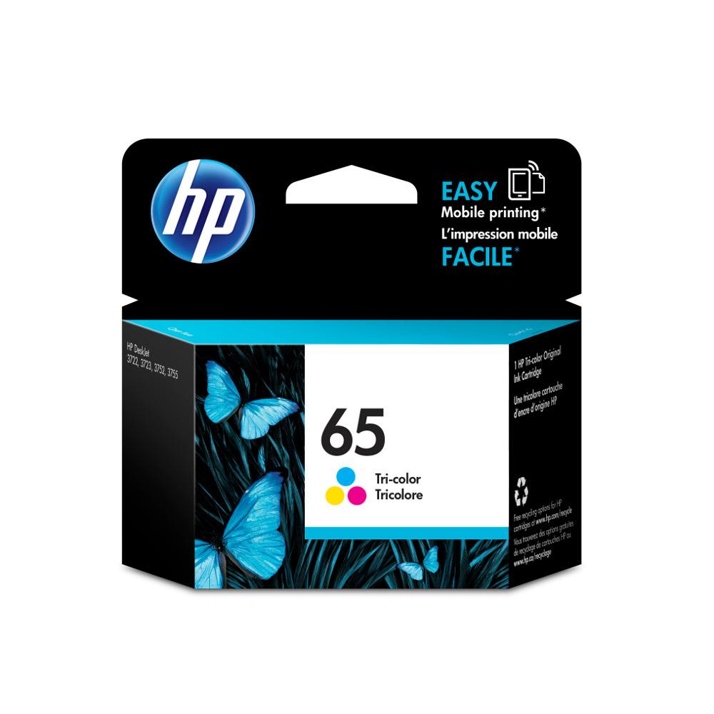 HP N9K01AA NO.65 原廠彩色墨水匣