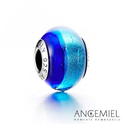Angemiel安婕米 義大利純銀 琉璃串珠 蔚藍