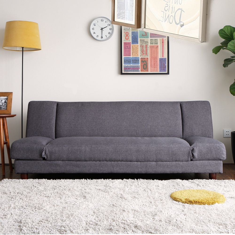 H&D 魯塔機能日式沙發床-多色選