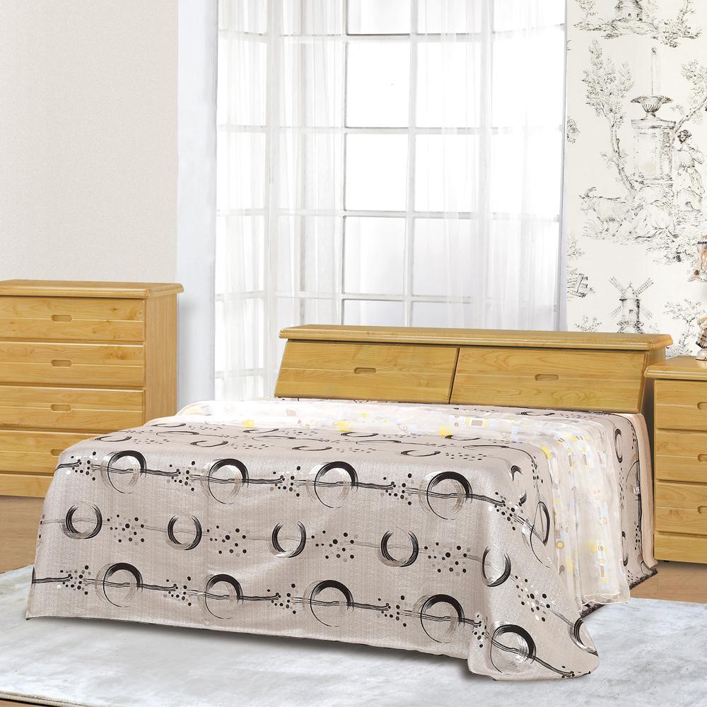 時尚屋 赤陽木5.2尺雙人床架(不含床墊)