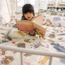 OLIVIA   動物樂園 黃 雙人床包枕套三件組
