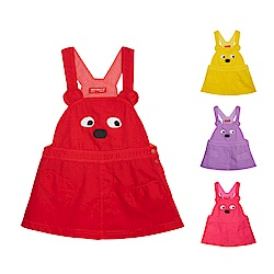 普普熊棉質吊帶裙