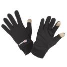 【Berghaus貝豪斯】觸控螢幕用彈性保暖手套 H46X01-黑