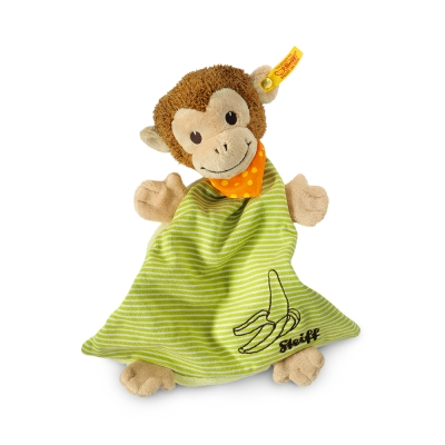 STEIFF德國金耳釦泰迪熊 - Jocko Monkey 猴子 (嬰幼兒安撫巾)