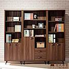 日本直人木業-VISTA輕工業風200CM書櫃(200x40x182cm)