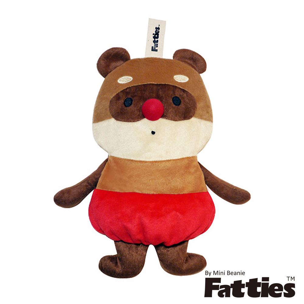 Fatties熱水袋熱敷袋呆萌浣熊Raccoon動物玩偶