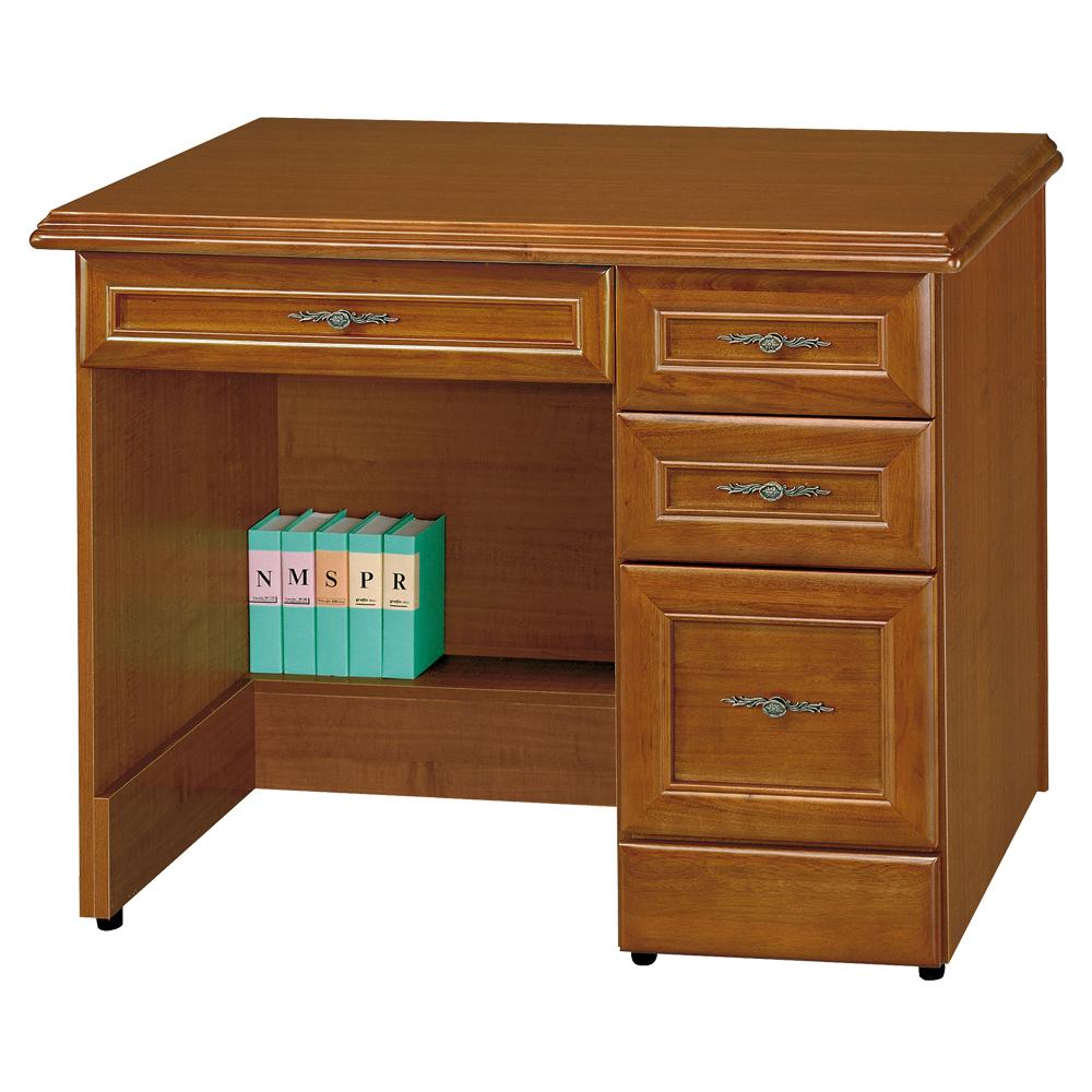 時尚屋 施勝發正樟木3.5尺書桌 寬104cm