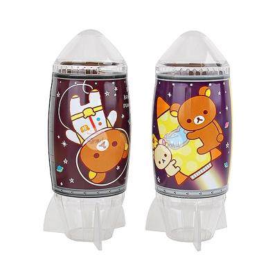 日本拉拉熊宇宙人火箭存錢筒