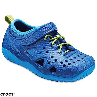 Crocs 卡駱馳童鞋 激浪涉水涼鞋 204989-4GX