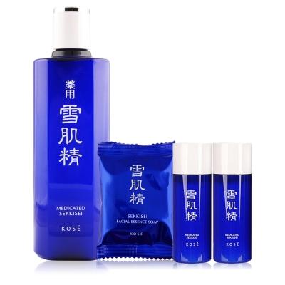 KOSE 高絲 雪肌精(360ml)贈乳液+潔顏皂
