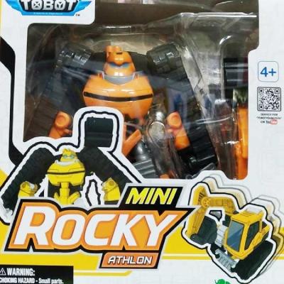任選TOBOT MINI Rocky 10號 黃色挖土機  YT01071機器戰士
