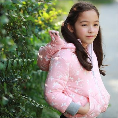 baby童衣 女童外套 保暖舖棉厚卡通花紋外套 50427