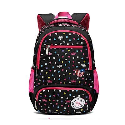 DF 童趣館 - 甜心氣質寶貝女孩專屬書包後背包-共3色
