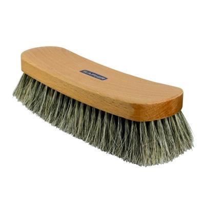 【SAPHIR莎菲爾】馬毛除塵刷(大)-有效清除皮革表面灰塵,幫助保養品更容易被皮革吸收