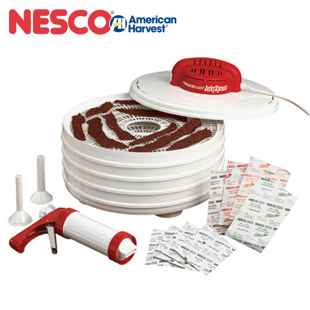 [美國原裝進口] NESCO 天然食物乾燥機 肉乾工具超值組 FD-28JX