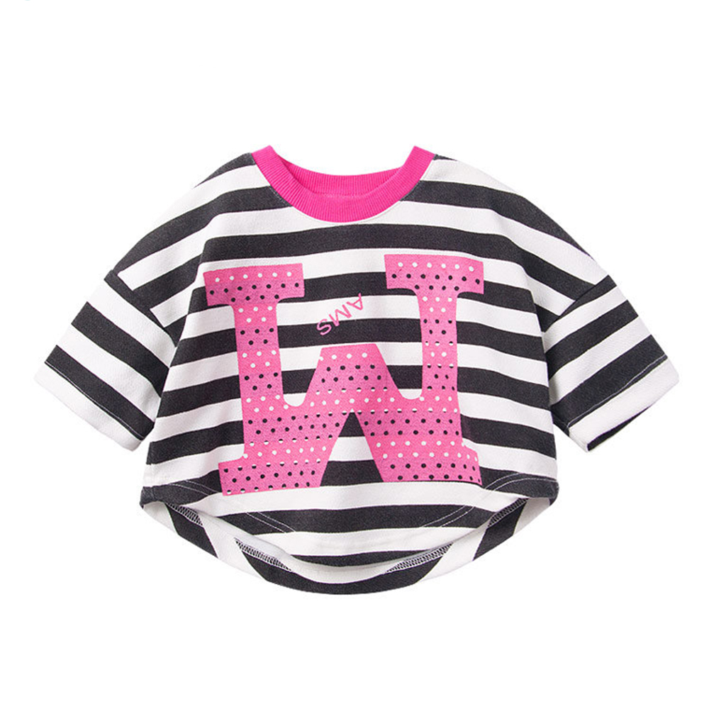 baby童衣 親子系列 條紋短版上衣 母女裝 47105