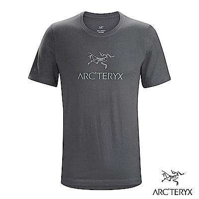 Arcteryx 24系列 男 有機棉 ARC'WORD 短袖T恤 機長灰