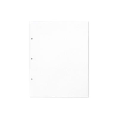 ICONIC 珍藏回憶三孔硬殼相本補充組-空白書寫頁(12張)