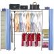 巴塞隆納-V2A型防塵伸縮衣櫥-附抽屜櫃