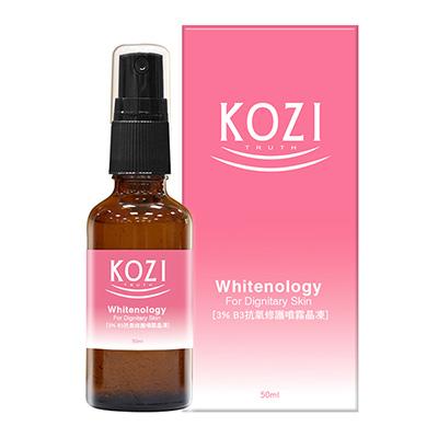 KOZI蔻姿 淨膚煥顏系列 3%抗氧修護噴霧晶凍50ml